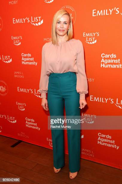 Chelsea Handler attends EMILY's List's Resist Run Win PreOscars Brunch on February 27 2018 in Los Angeles California