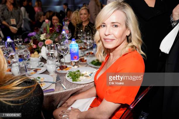 Chelsea Handler attends FIJI Water at The Hollywood Reporter's 28th Annual Women in Entertainment Breakfast at Milk Studios on December 11, 2019 in...