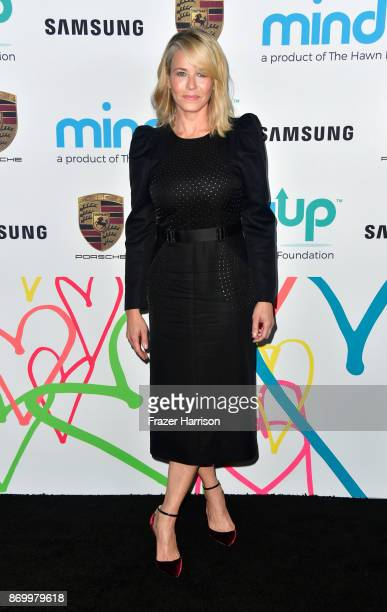 Chelsea Handler attends Goldie's Love In For Kids at Ron Burkle's Green Acres Estate on November 3 2017 in Beverly Hills California