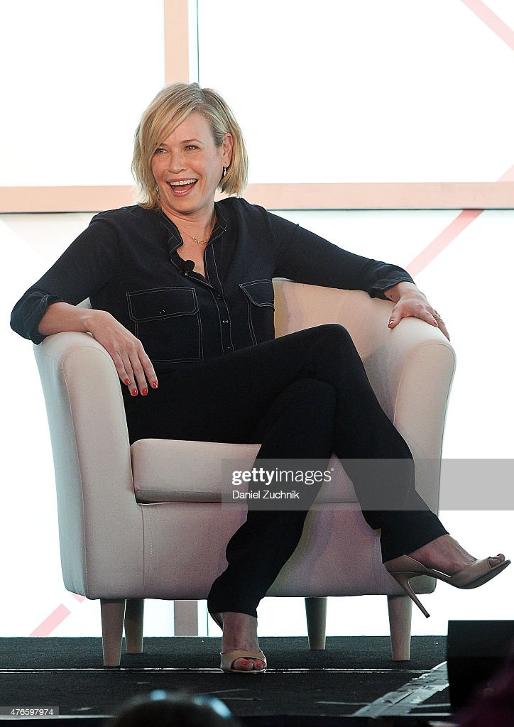 Chelsea Handler attends the 2015 Forbes Women's Summit: Transforming the Rules of Engagement at Pier 60 on June 10, 2015 in New York City.