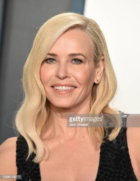 Chelsea Handler attends the 2020 Vanity Fair Oscar Party hosted by Radhika Jones at Wallis Annenberg Center for the Performing Arts on February 09,...