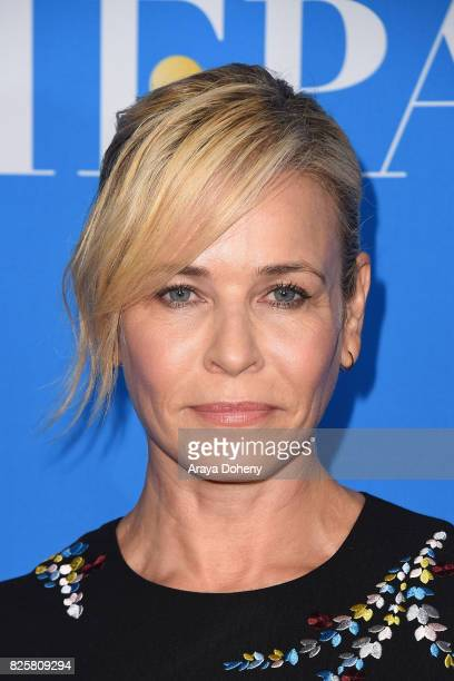 Chelsea Handler attends the Hollywood Foreign Press Association's Grants Banquet at the Beverly Wilshire Four Seasons Hotel on August 2 2017 in...