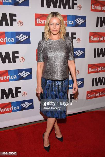 Chelsea Handler attends the International Women's Media Foundation 2017 Courage in Journalism Awarddss at NeueHouse Hollywood on October 25 2017 in...