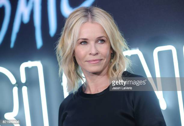 Chelsea Handler attends the premiere of Atomic Blonde at The Theatre at Ace Hotel on July 24 2017 in Los Angeles California