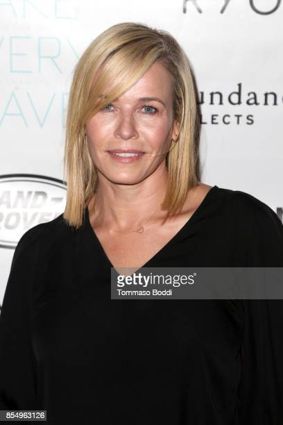 Chelsea Handler attends the Premiere of Sundance Selects' 'Take Every Wave The Life Of Laird Hamilton' at ArcLight Hollywood on September 27 2017 in...