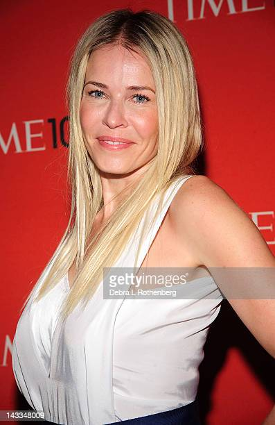 Chelsea Handler attends the Time 100 gala at Frederick P Rose Hall Jazz at Lincoln Center on April 24 2012 in New York City