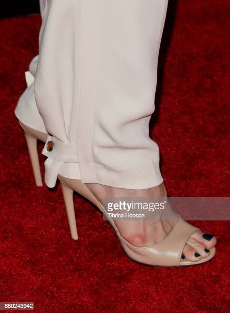 Chelsea Handler, fashion detail, attends the Netflix FYSEE Kick-Off event at Netflix FYSee Space on May 7, 2017 in Beverly Hills, California.