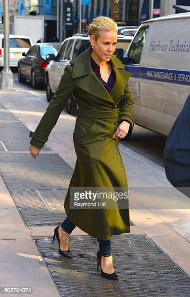 "Chelsea Handler is seen walking in ""Midtown""on January 19, 2016 in New York City."