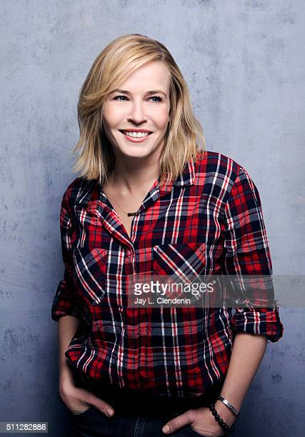 Chelsea Handler of 'Chelsea Does' poses for a portrait at the 2016 Sundance Film Festival on January 22 2016 in Park City Utah CREDIT MUST READ Jay L...