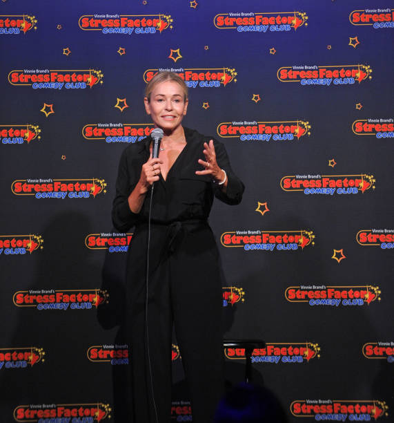 NJ: Chelsea Handler Performs At The Stress Factory