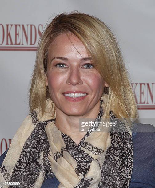 Chelsea Handler promotes 'Uganda Be Kidding Me' at Bookends Bookstore on March 8 2014 in Ridgewood New Jersey