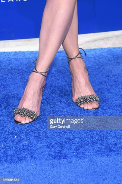 Chelsea Handler, shoe detail, attends the Planned Parenthood 100th Anniversary Gala at Pier 36 on May 2, 2017 in New York City.