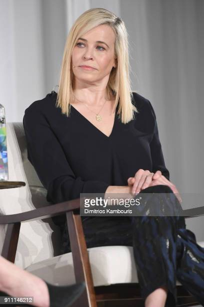 Chelsea Handler speaks on the panel at the in goop Health Summit on January 27 2018 in New York City