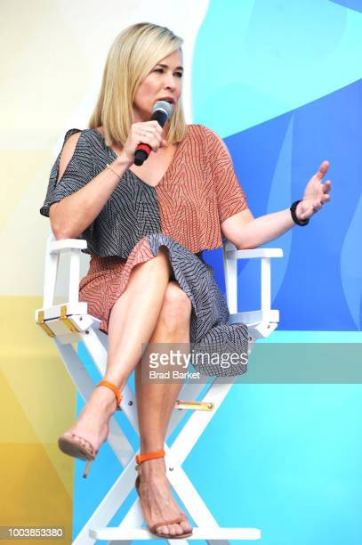 Chelsea Handler speaks onstage during OZY Fest 2018 at Rumsey Playfield, Central Park on July 22, 2018 in New York City.