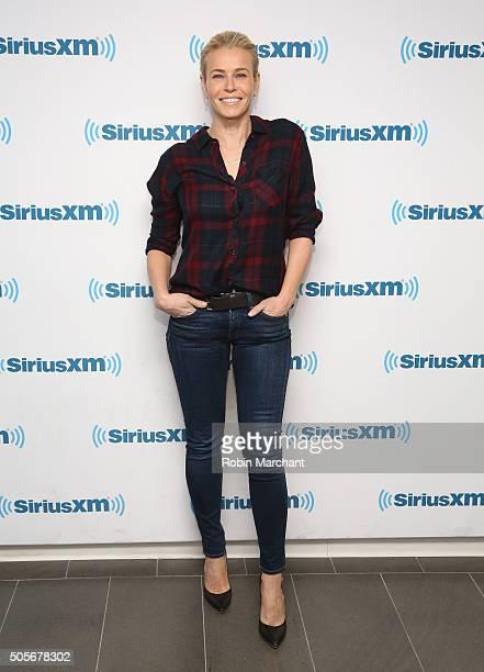 Chelsea Handler visits at SiriusXM Studios on January 15 2016 in New York City