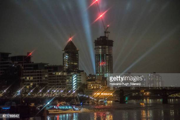 Chelsea Harbour and Wharf: Night Lights