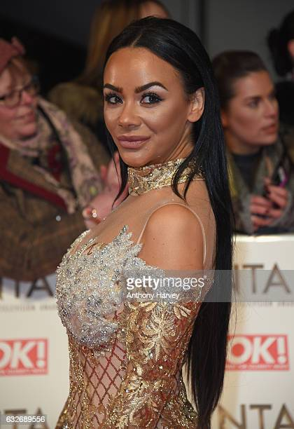 Chelsea Healey attends the National Television Awards on January 25 2017 in London United Kingdom
