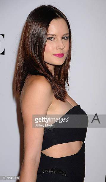 Chelsea Hobbs arrives at the 9th Annual Teen Vogue Young Hollywood Party at Paramount Studios on September 23 2011 in Hollywood California