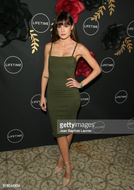 Chelsea Hobbs attends the Lifetime hosts Anti-Valentine's Bash for Premieres of 'UnREAL' and 'Mary Kills People' on February 13, 2018 in West...