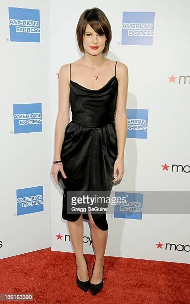 Chelsea Hobbs attends the Macy's Passport 2009 Fashion Show at Barker Hangar on September 24 2009 in Santa Monica California