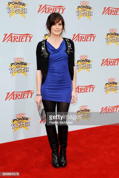 Chelsea Hobbs attends Variety's 3rd Annual POWER OF YOUTH Event at Paramount Studios on December 5 2009 in Hollywood CA