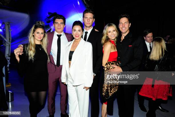 Chelsea Holtz Zane Holtz Danielle Kirlin Ryan McPartlin Sandra Hess and Michael Trucco attend Lionsgate With The Cinema Society Host The After Party...