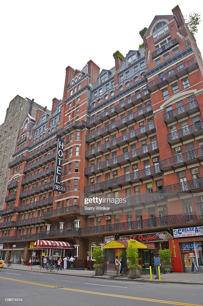 chelsea hotel 23rd street and 6th avenue new york city. Black Bedroom Furniture Sets. Home Design Ideas