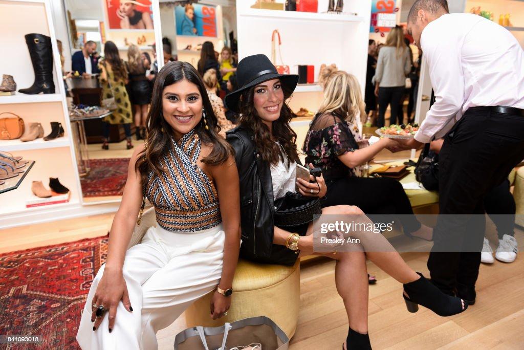 ed6061eac Chelsea Kaplan and Amanda Champion attend Sam Edelman NYFW Fashion ...