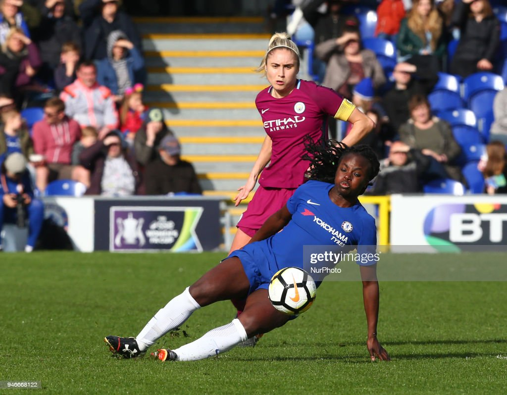 Chelsea Ladies v Manchester City Women - Women's FA Cup Semi Final : News Photo