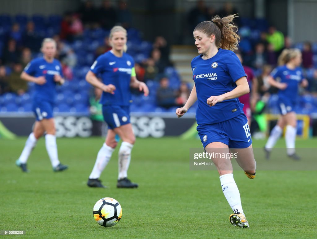 Chelsea Ladies v Manchester City Women - Women's FA Cup Semi Final : News Photo