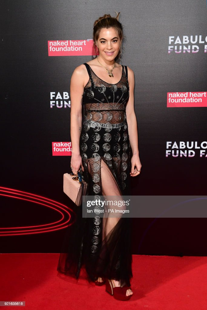Chelsea Leyland attending the Naked Heart Foundation Fabulous Fun dFair held at The Roundhouse in Chalk Farm, London.