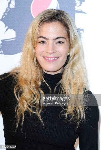 Chelsea Leyland attending the Pepsi Max 'The Art of Football' launch party at Victoria House in London