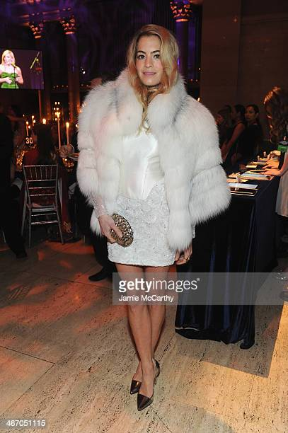Chelsea Leyland attends the 2014 amfAR New York Gala at Cipriani Wall Street on February 5 2014 in New York City