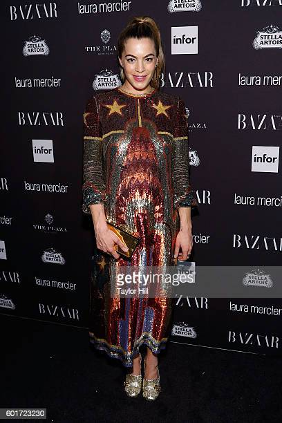 Chelsea Leyland attends the 2016 Harper ICONS Party at The Plaza Hotel on September 9 2016 in New York City