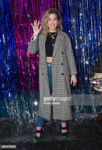 Chelsea Leyland attends the Burberry x Cara Delevingne Christmas Party on December 2 2017 in London England