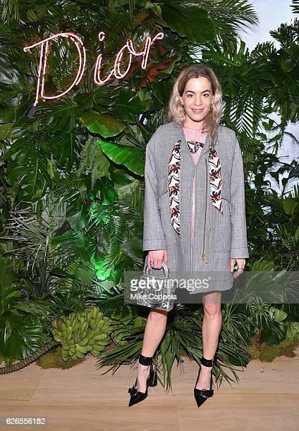 Chelsea Leyland attends the Dior Lady Art Miami launch event on November 29 2016 in Miami Florida