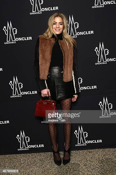 Chelsea Leyland attends the Moncler Grenoble Fall 2014 Presentation at the Hammerstein Ballroom on February 8 2014 in New York City