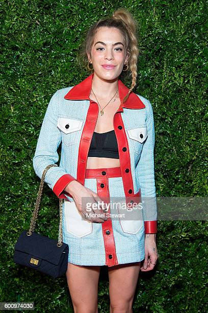 Chelsea Leyland attends the Saks Downtown x Vogue event at Saks Downtown on September 8 2016 in New York City