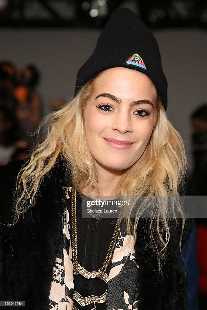 DJ Chelsea Leyland attends the Suno fall 2013 fashion show during MADE Fashion Week at Milk Studios on February 8, 2013 in New York City.