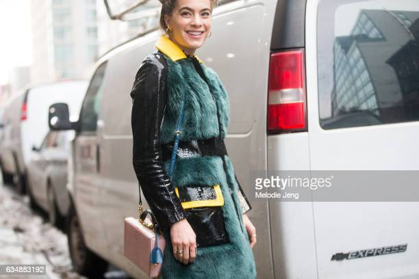 Chelsea Leyland on February 11 2017 in New York City