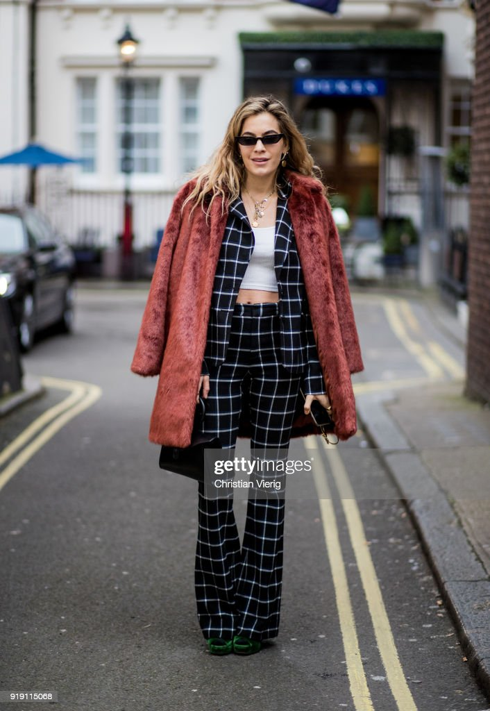 Street Style - LFW February 2018