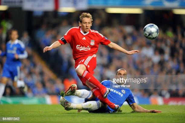 LUCAS / ALEX Chelsea / Liverpool 1/4 finale Champions League Stamford Bridge Londres Photo Dave Winter / Icon Sport