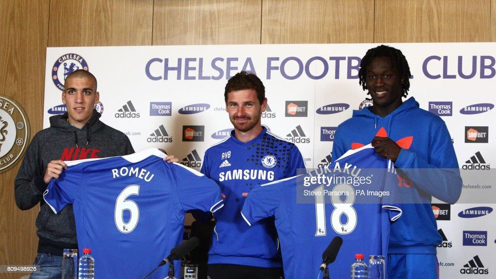 Soccer - Barclays Premier League - Chelsea Press Conference - Cobham Training Ground : News Photo