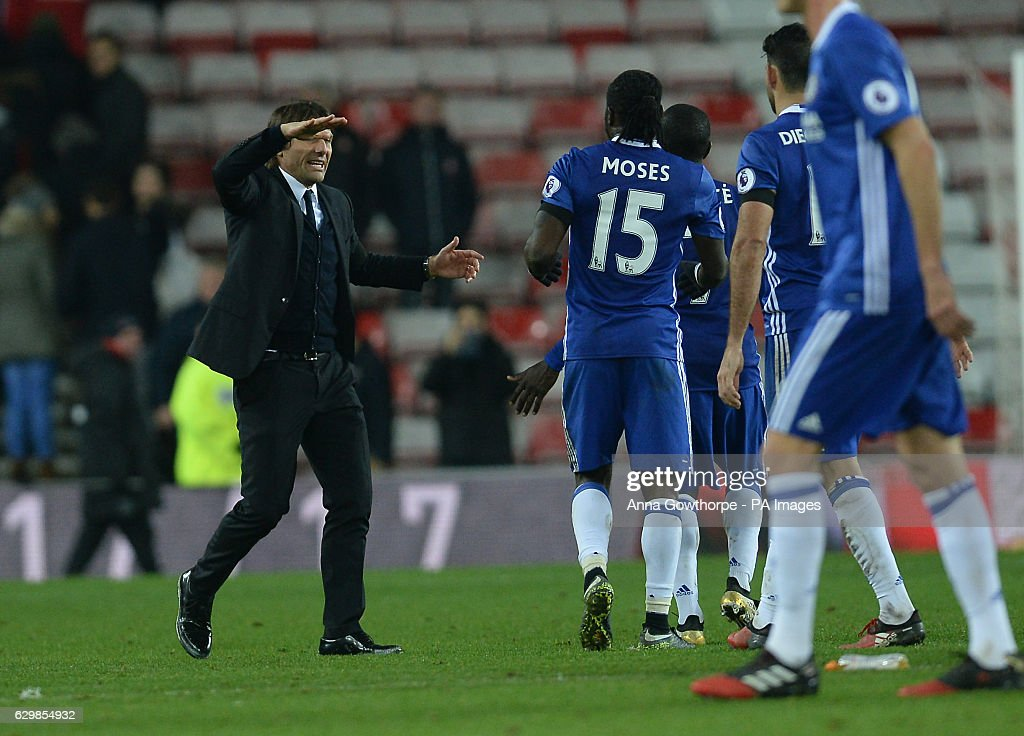 Sunderland v Chelsea - Premier League - Stadium of Light : News Photo