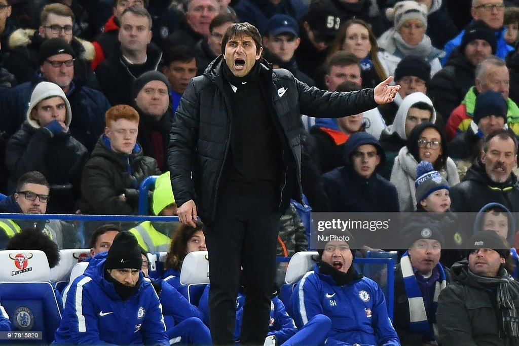 Chelsea v West Bromwich Albion - Premier League 2017/18 : News Photo