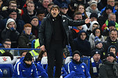 chelsea manager antonio conte during premier