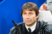 londonengland chelsea manager antonio conte during