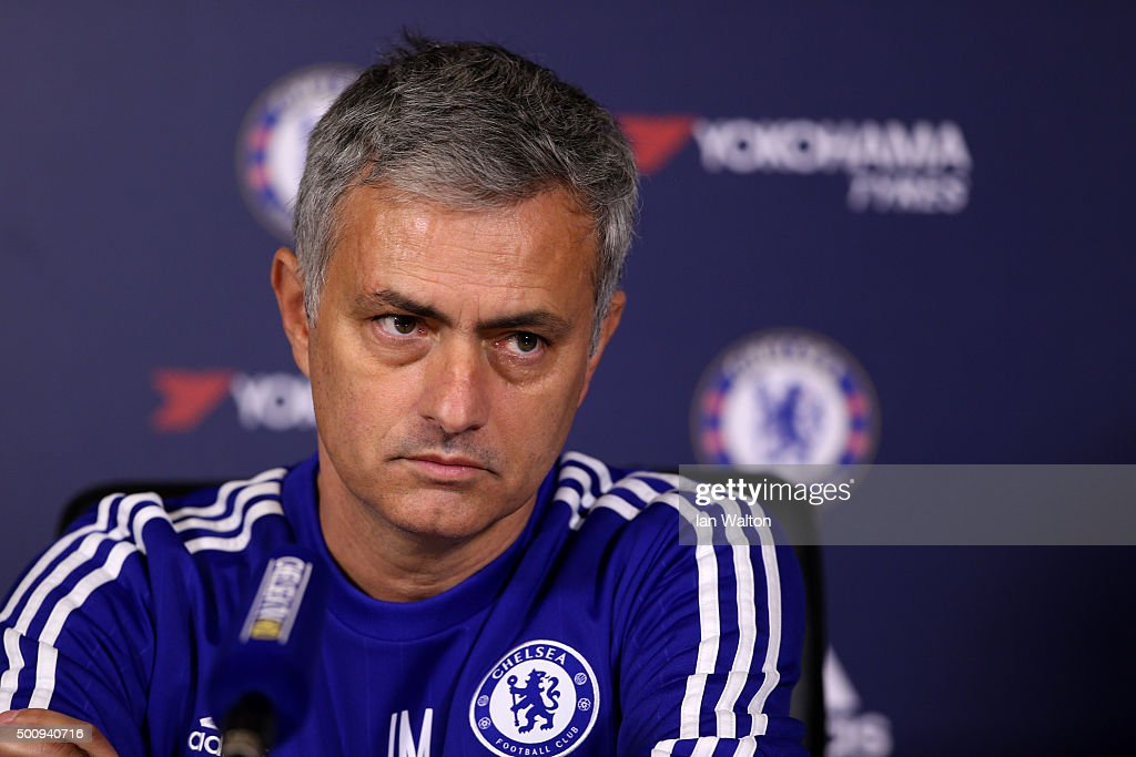 Chelsea Press Conference : News Photo