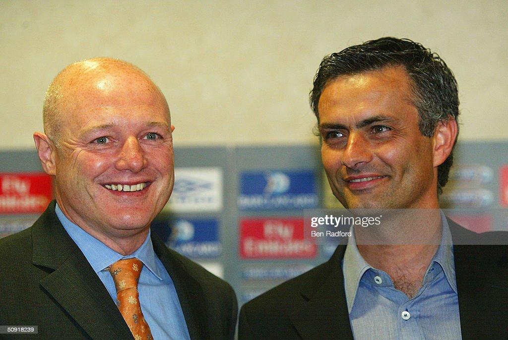 Chelsea/Jose Mourinho Press Conference : News Photo