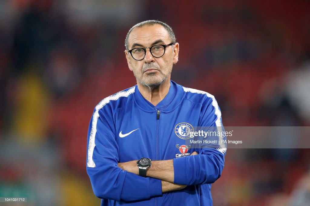 Liverpool v Chelsea - Carabao Cup - Third Round - Anfield : News Photo